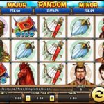 Judi Slot Online Banyak Bonus Game Three Kingdoms Ques