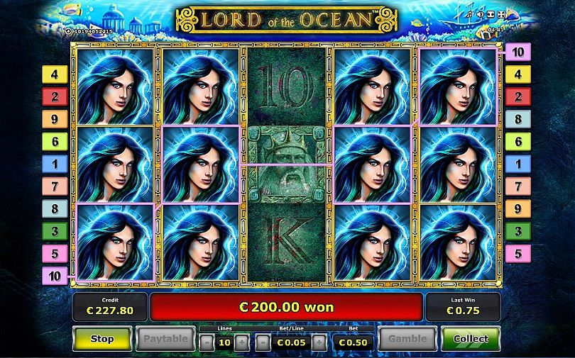 Slot Game Lord Of The Ocean