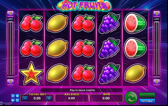 Slot Online Buah Game Hot Fruits Free Spin