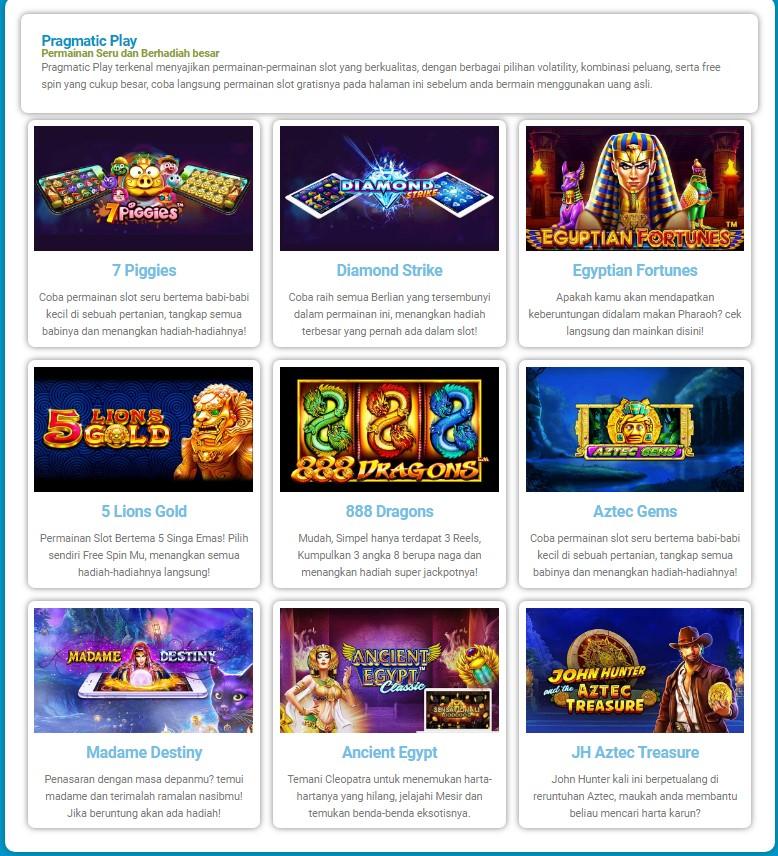 gameslotgratis.com Judi Slot Online Tanpa Deposit