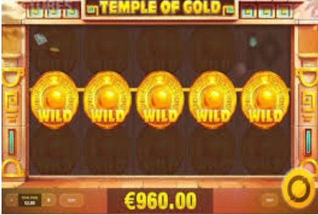Judi Slot Online Temple Of Gold Terpercaya