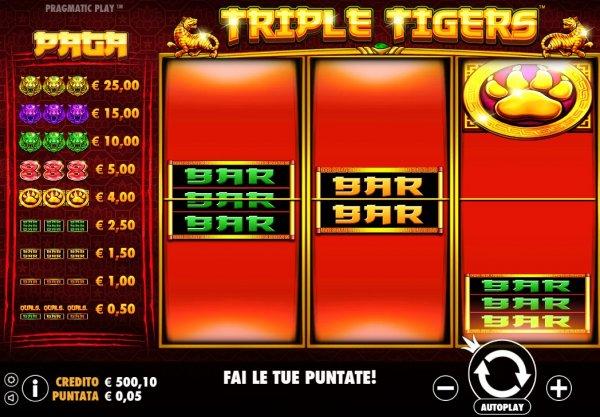 Slot Triple Tigers Pragmatic Play